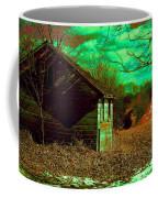 Solitude On The Backroads In Neon Coffee Mug