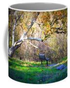 Solitude Under The Sycamore Coffee Mug by Carol Groenen