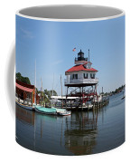 Solomons Island - Drum Point Lighthouse Reflecting Coffee Mug