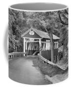 Somerset One Lane Bridge Black And White Coffee Mug