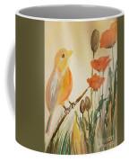 Somewhere In The Poppy Field Coffee Mug