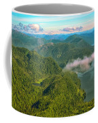 Over Alaska - June  Coffee Mug