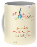 Somewhere Over The Rainbow Coffee Mug by Nikki Smith