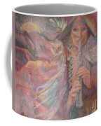 Song Of Our Sacred Dreaming Coffee Mug by Pamela Mccabe