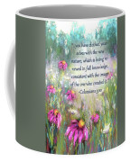 Song Of The Flowers With Bible Verse Coffee Mug