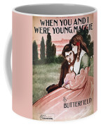 Song Sheet Cover, C1895 Coffee Mug