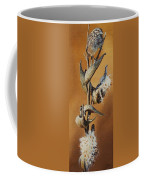 Song Sparrow And Milkweed Coffee Mug