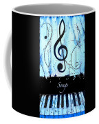 Songs - Blue Coffee Mug