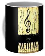 Songs - Yellow Coffee Mug