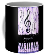 Songwriter - Purple Coffee Mug
