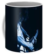 Sonic Blue Guitar Explosions Coffee Mug