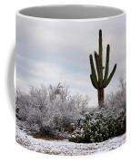 Sonora Desert Winter Coffee Mug
