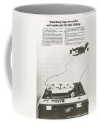 Sony Vintage Advert Coffee Mug