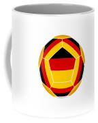 Soocer Ball With Germany Flag Coffee Mug