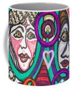 Sooooooo Many Faces Coffee Mug