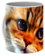 Soulfull Eyes Kitten Portrait Coffee Mug