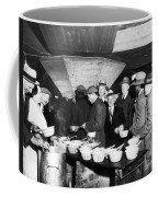 Soup Kitchen, 1931 Coffee Mug