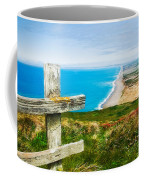 South Beach At Point Reyes Coffee Mug