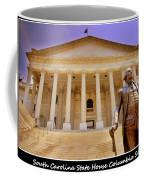 South Carolina State House Columbia Sc Coffee Mug