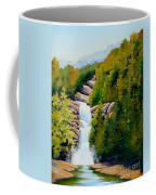 South Carolina Waterfall Coffee Mug