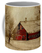 South Dakota Barn Coffee Mug
