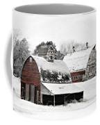 South Dakota Farm Coffee Mug by Julie Hamilton