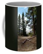 South Lake Tahoe Mountain Trail Coffee Mug