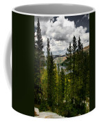 South Lake Through The Pines Coffee Mug