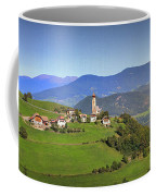 South Tyrolean Panorama Above Bolzano. Coffee Mug