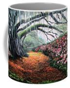 Southern Charm Oak And Azalea Coffee Mug