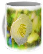 Southern Missouri Wildflowers - Mayapples Bloom - Digital Paint 2 Coffee Mug