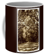 Southern Welcome In Sepia Coffee Mug