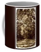 Southern Welcome In Sepia Coffee Mug