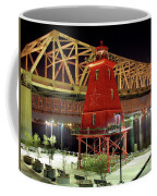 Southwest Reef Lighthouse, Berwick, Louisiana Coffee Mug