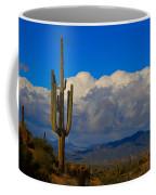 Southwest Saguaro Desert Landscape Coffee Mug