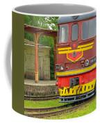 Soviet Era Train In Haapsalu Estonia Coffee Mug