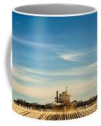 Sowing From Behind Coffee Mug