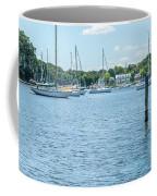 Spa Creek In Blue Coffee Mug