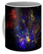 Space Flower Coffee Mug