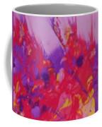 Space On Fire Coffee Mug