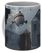 Space Probes And Androids Survey An Coffee Mug by Mark Stevenson