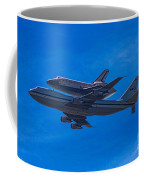 Space Shuttle Endevour Coffee Mug