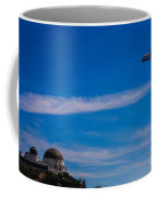 Space Shuttle Over Griffith Observatory Coffee Mug