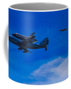 Space Shuttle Over Griffith Park Coffee Mug
