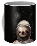 Space Sloth Coffee Mug by Eric Fan