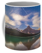Space Station Passing West To East Coffee Mug