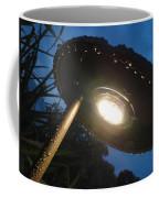 Spaceship Landscape Light Coffee Mug