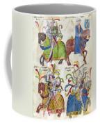 Spain: Knights, C1350 Coffee Mug