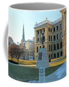 Spanish American War Memorial At Lucas County Courthouse 0098 Coffee Mug
