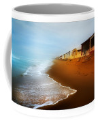 Spanish Beach Chalets Coffee Mug